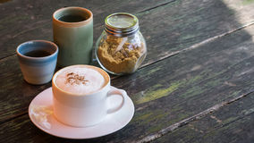 Cappuccino kawa Zdjęcie Stock