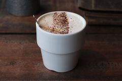 Cappuccino coffee royalty free stock image