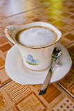 cappuccino kubek Obrazy Royalty Free