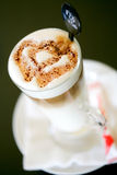 Cappuccino latte Stock Photography