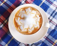 Cappuccino , Latte Royalty Free Stock Images