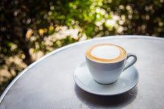 Cappuccino oder latte Kaffee Lizenzfreie Stockfotografie
