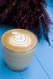 Cappuccino ou café au café Photographie stock
