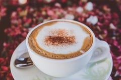 Cappuccino ou café de latte Photo libre de droits