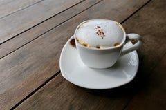 Cappuccino quente Imagem de Stock