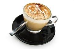 Cappuccino rosetta Royalty Free Stock Image