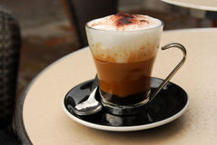 Cappuccino's Royalty-vrije Stock Foto's