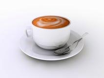 Cappuccino's stock illustratie