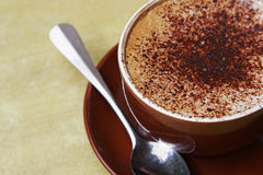 Cappuccino's Royalty-vrije Stock Foto