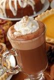 Cappuccino's en dessert Royalty-vrije Stock Fotografie