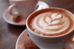 Cappuccino saboroso Imagem de Stock Royalty Free