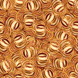 Cappuccino seamless pattern. Royalty Free Stock Images