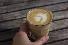 Cappuccino squisito Immagine Stock