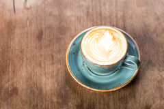 Cappuccino terminado Imagem de Stock Royalty Free
