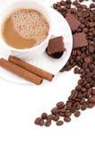 Cappuccino time Royalty Free Stock Photos