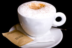 Cappuccino  time! Royalty Free Stock Image