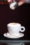 Cappuccino  time! Stock Photos