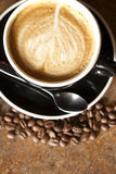 Cappuccino up high Royalty Free Stock Image