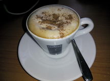 Cappuccino vienense Foto de Stock Royalty Free