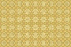 Cappuccino-weiche orientalische arabische dekorative Sahnetapete stock abbildung