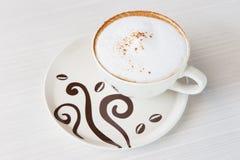 Cappuccinocup Lizenzfreies Stockbild