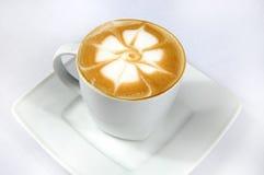 cappuccinokaffe Royaltyfria Foton