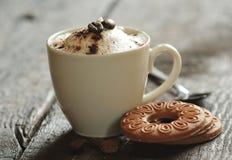 cappuccinokaffe Royaltyfri Bild
