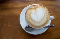 Cappuccinokaffe royaltyfri fotografi