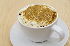 Cappuccinokaffee lizenzfreie stockbilder