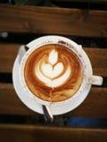 Cappuccinokonst Royaltyfri Fotografi
