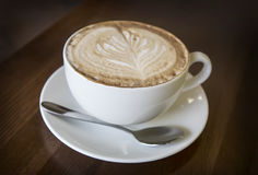 Cappuccinokopp kaffe Royaltyfri Fotografi