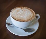 Cappuccinokopp kaffe Arkivbild