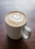 Cappuccinokopp kaffe Fotografering för Bildbyråer