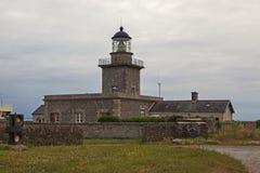 Cappuccio de Carteret Lighthouse Fotografia Stock