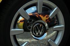 Cappuccio di hub di Volkswagon immagini stock