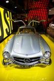 Cappuccio di 300 SL Gullwing Immagine Stock Libera da Diritti