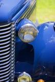 Cappuccio ed automobile antica del cuscino ammortizzatore Fotografia Stock Libera da Diritti