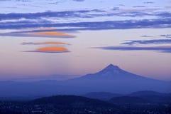 Cappuccio Oregon, S.U.A. di Mt Fotografia Stock Libera da Diritti