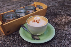 Cappuchino coffee Royalty Free Stock Image