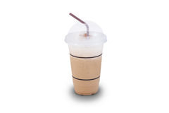 Cappuchino fresh cup. Coffee be you fresh in the morning Royalty Free Stock Photo