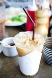 Cappuchino iced coffee Royalty Free Stock Photo