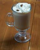 Cappuchino-Schalenkaffee Lizenzfreies Stockfoto