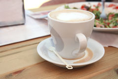 Cappuchino served Royalty Free Stock Images