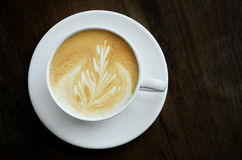 Cappucino coffee cup Stock Photography