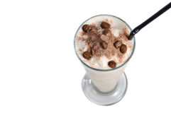 Cappucino milkshake drink Stock Photography