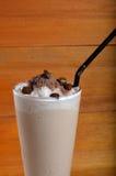 Cappucino milkshake drink Royalty Free Stock Images
