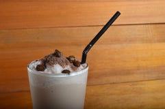 Cappucino milkshake drink Royalty Free Stock Photo