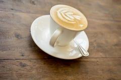 Cappucino quente Imagens de Stock Royalty Free