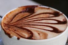 cappucinokaffekopp Fotografering för Bildbyråer
