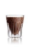 Cappucinotini shot cocktail stock image